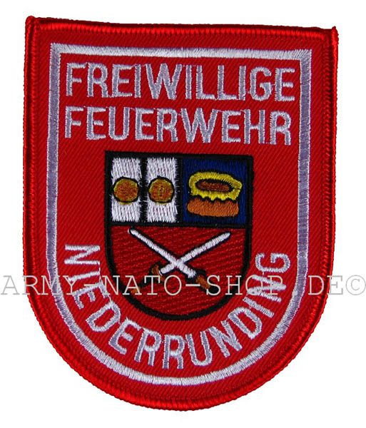 Deutsches Abzeichen Freiwillige Feuerwehr Niederrunding