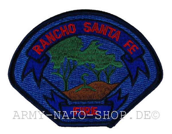 US Abzeichen Firefighter - Rancho Santa Fe