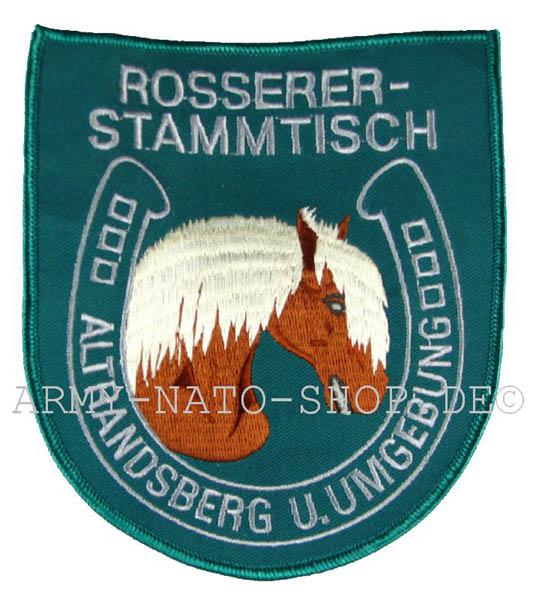 Aufnäher ROSSERER-STAMMTISCH