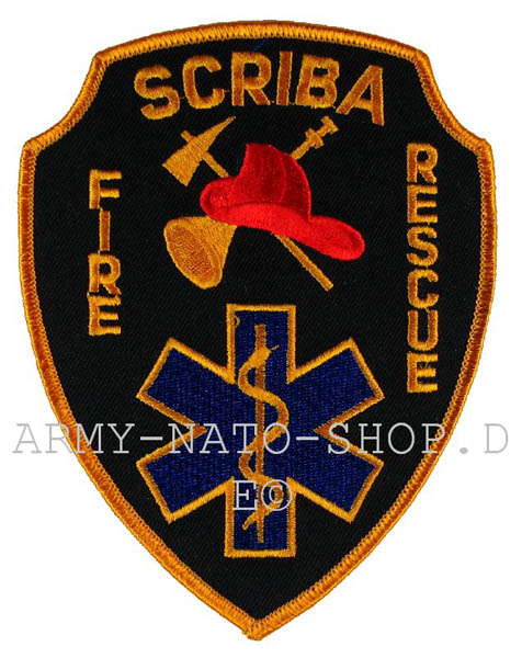 US Abzeichen Firefighter - Scriba
