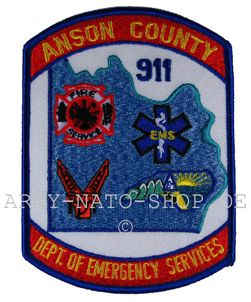 US Abzeichen Firefighter - Anson County