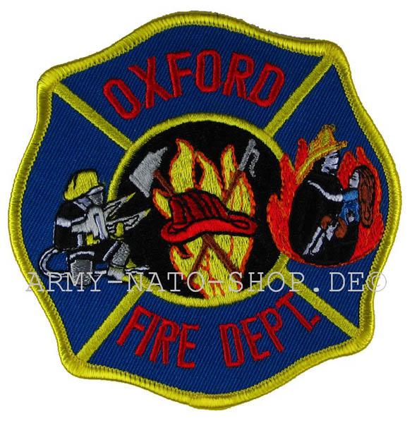 US Abzeichen Firefighter - Oxford