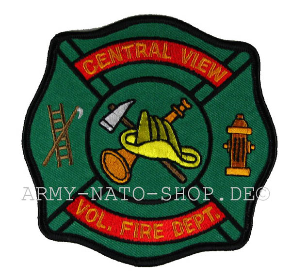 US Abzeichen Firefighter - Central View