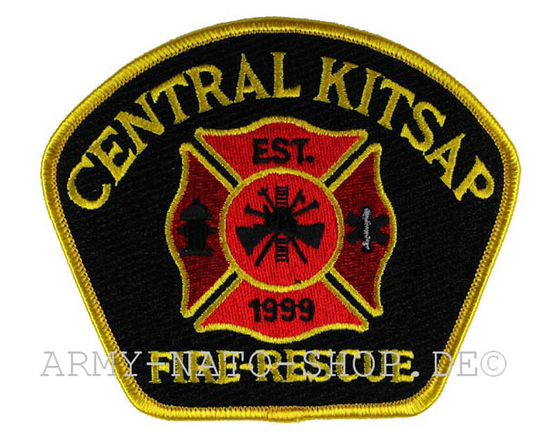 US Abzeichen Firefighter - Central kitsap 1999