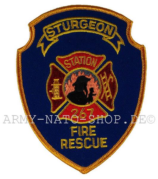 US Abzeichen Firefighter - Sturgeon station 267