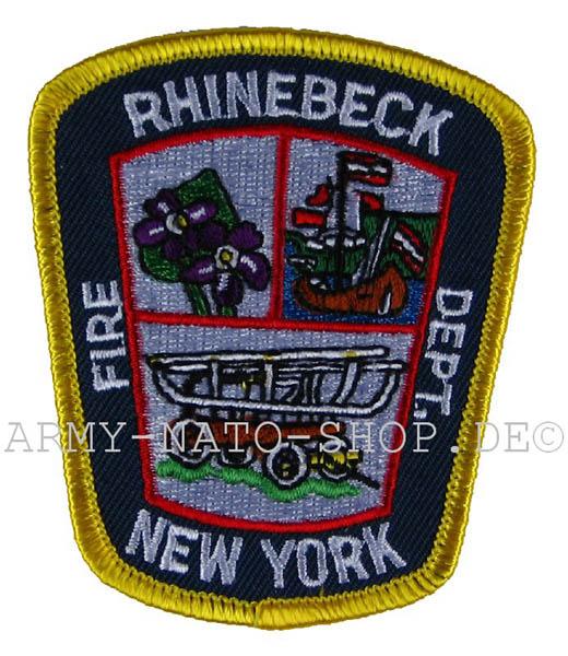 US Abzeichen Firefighter - Rhinebeck New York