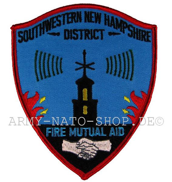 US Feuerwehr Abzeichen - Southwestern New Hampshire