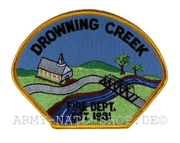 US Abzeichen Firefighter - Drowning Creek
