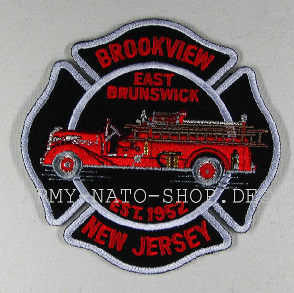 US Abzeichen Firefighter - Brookview New Jersey 1952