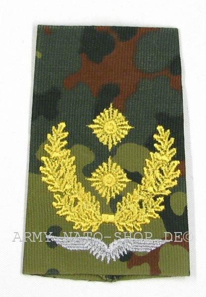 Rangabzeichen, Bw Heer tarn/gold General-Major Flieger