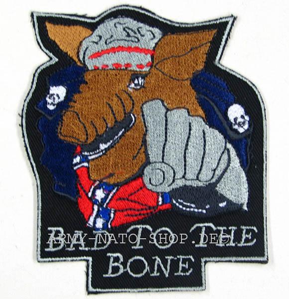 Abzeichen - Bad to the Bone