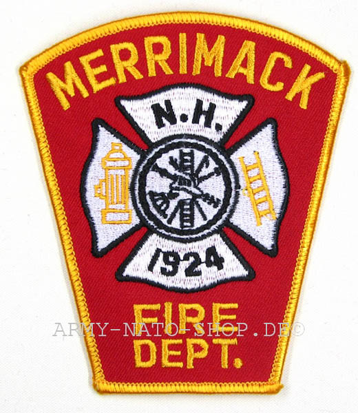 U.S. Abzeichen Firefighter - Merrimack 1924