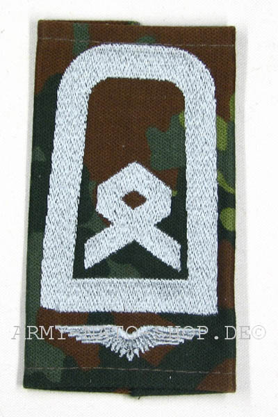 Rangabzeichen,Bw Luftwaffe tarn/silber Feldwebel,Paar