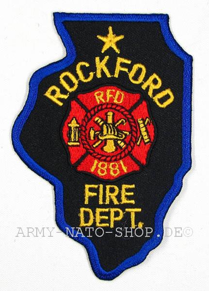 U.S. Abzeichen Firefighter - Rockford 1881