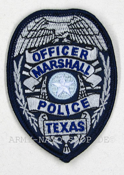 U.S. Abzeichen OFFICER MARSHALL POLICE TEXAS