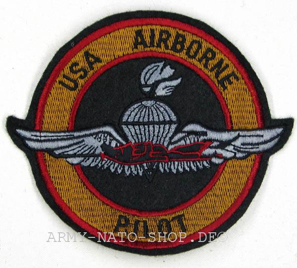 Abzeichen-US AIRBORNE PILOT