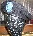 Original Us-Army Barett schwarz, gebraucht