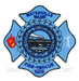 US Abzeichen Firefighter - Waterville Maine