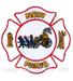 US Abzeichen Firefighter - New Paris