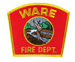 US Abzeichen Firefighter - Wire Fire Dept.