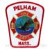 US Abzeichen Firefighter - Pelham Mass.