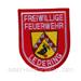 Deutsches Abzeichen Freiwillige Feuerwehr - Ledering