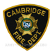 US Abzeichen Firefighter - Cambridge