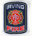 US Abzeichen Firefighter - Irving 1925