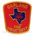 US Abzeichen Firefighter - Garland