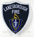 US Abzeichen Firefighter - Lanesborough Fire