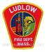 US Abzeichen Firefighter - Ludlow