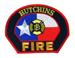 US Abzeichen Firefighter - Hutchins