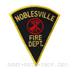US Abzeichen Firefighter - Noblesville