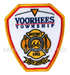 US Abzeichen Firefighter - Voorhees Township New Jersey