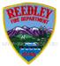 US Abzeichen Firefighter - Reedley 1888