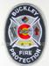 US Abzeichen Firefighter - Buckly