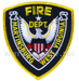 US Abzeichen Firefighter - Martinsburg West Virgina