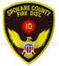 US Feuerwehr Abzeichen - Spokane County