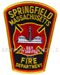 US Abzeichen Firefighter - Springfield Massachusetts
