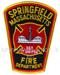 US Abzeichen Firefighter - Springfield Massachusetts