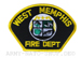 US Abzeichen Firefighter - West Memphis