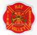 US Abzeichen Firefighter - Hay Valley