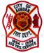 US Feuerwehr Abzeichen - City of Auburn 1894 - 1994
