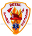 US Abzeichen Firefighter - Royal fire