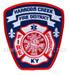US Abzeichen Firefighter - Harrods Creek 1952