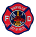 US Abzeichen Firefighter - Danville City of Firsts