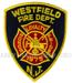 US Abzeichen Firefighter - Westfield 1875 N.J