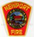 US Abzeichen Firefighter - Newport
