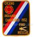 US Abzeichen Firefighter - Cicero 1952