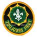 U.S. Army Abzeichen TOUJOURS PRET